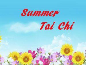 Summer Tai Chi 2018