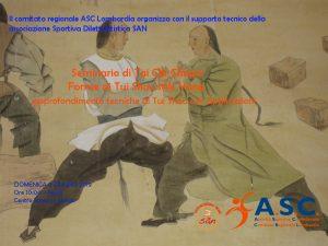 Seminario  Tai Chi Chuan